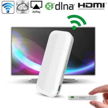 סטרימר מקלט WIFI ל HDMI משדר וידאו לטלויזיה iPush AirPlay
